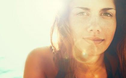 gezonde huid zon