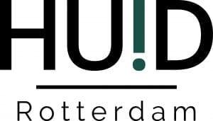 Huid Rotterdam logo donker