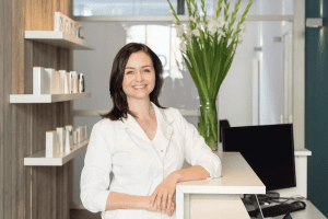Huidtherapeut Ellen de Haan